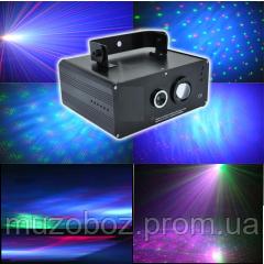 BIG BE FS02 Led миксующий двухцветный лазер + LED RGB 3in1