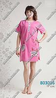 Женская летняя пижама розового цвета L XL