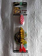 Блесна Cobra , вертушка с силиконовой рыбкой