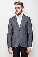 Пиджак с контрастной петлёй