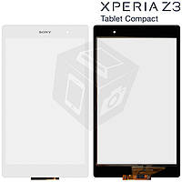 Touchscreen (сенсорный экран) для Sony Xperia Tablet Z3 Compact, оригинал (белый)
