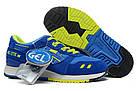 """Женские кроссовки Asics Gel Lyte 3 """"Blue"""" (в стиле Асикс Гель Лайт 3) синие, фото 3"""