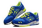 """Женские кроссовки Asics Gel Lyte 3 """"Blue"""" (в стиле Асикс Гель Лайт 3) синие, фото 5"""