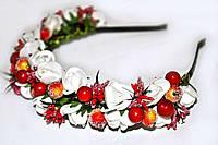Модный аксессуар для волос Обруч с цветами