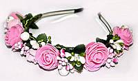 Женский обруч Коктель из роз
