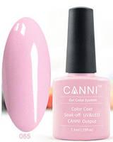 Гель лак Canni 065 (бледно-розовый)