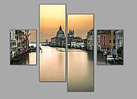 Картина Венеция  - модульная картина на заказ