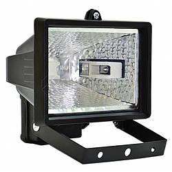 Прожектор галогеновий 150 Вт (чорний) Technics 70-610 | галогеновый