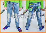 Стильные джинсы детям | детские джинсы со шнурком