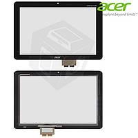 Touchscreen (сенсорный экран) для Acer Iconia Tab A210 / A211, черный, оригинал