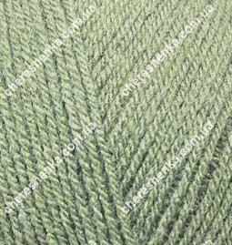 Нитки Alize Superlana Tig 138 зеленый миндаль