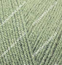 Нитки Alize Superlana Tig 138 зеленый миндаль, фото 2