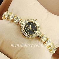 Бюджетные часы King girl diamond Gold/Black