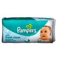 Pampers Baby Fresh Влажные салфетки 64 шт