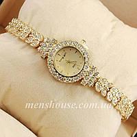 Бюджетные часы King girl diamond Gold/Gold