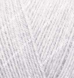 Нитки Alize Superlana Tig 208 светло серый