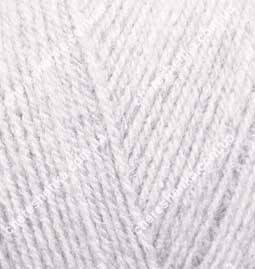 Нитки Alize Superlana Tig 208 светло серый, фото 2