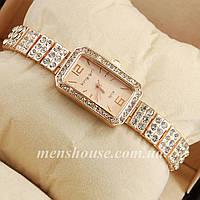 Бюджетные часы King girl diamond Pink gold/Pink