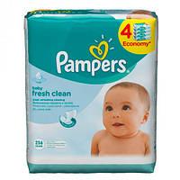 Pampers Baby Fresh Влажные салфетки 3+1 x 64 шт