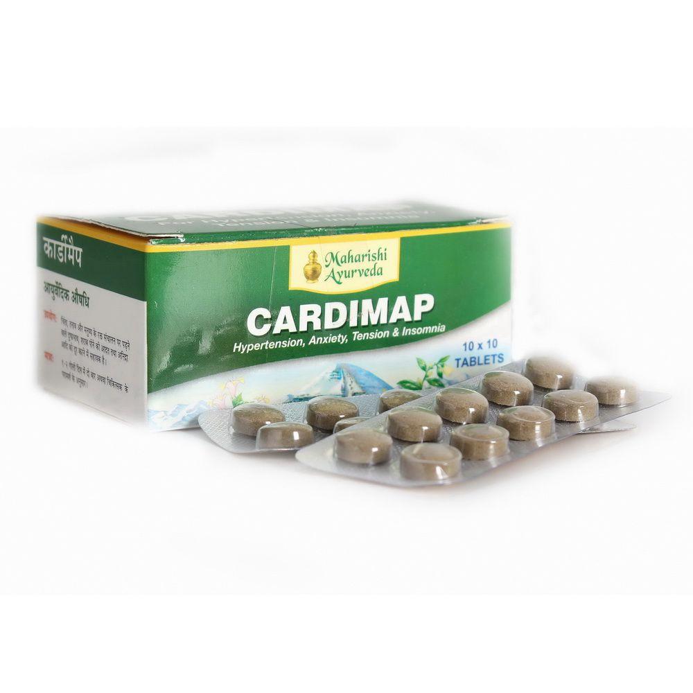 Кардимап, нормализация повышенного давления, Cardimap (100tab)