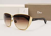 Женские солнцезащитные очки Dior Futurist LUX золото