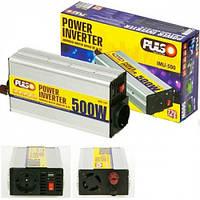 Преобразователь напряжения 12V-220V/500W/USB-5VDC0.5A/клеммы Pulso IMU 500