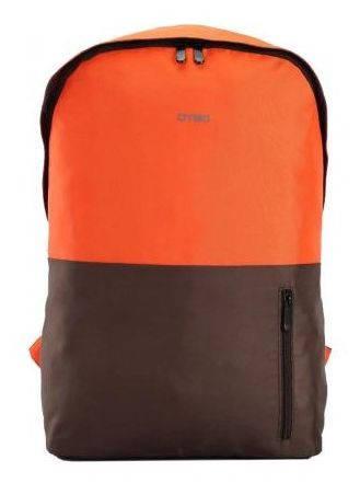 """Оригинальный рюкзак для ноутбука до 15,6"""" городской DTBG D8958OE оранжевый, коричневый"""