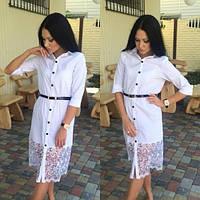 """Модное стильное платье """"Рубашка"""" на пуговицах. Артикул SM18"""