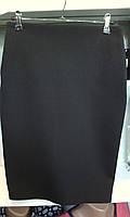 Женская юбка карандаш с завышенной посадкой