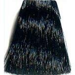 1.1 - Иссиня-черный Indola Permanent Аммиачная крем-краска для волос 60 мл.