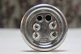Тен для бойлера Термекс, Гарантерм, Аміна 2000 W з нержавійки, прямий з трубками під 2 терморегулятора КИТАЙ, фото 3
