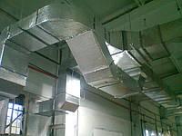 Монтаж вентиляционных систем с рекуперацией тепла