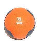Медбол LiveUp MEDICINE BALL 3 кг. LS3006F-3
