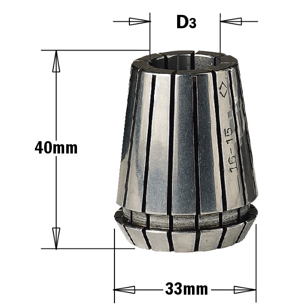 Цанга зажимная ER 32  (D = 10 мм)