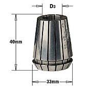 Цанга зажимная ER 32  (D = 3  мм)