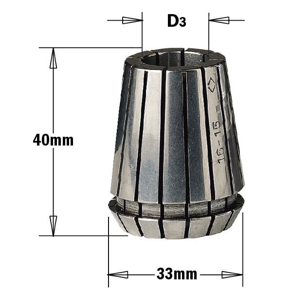 Затискна Цанга ER 32 (D = 10 мм)