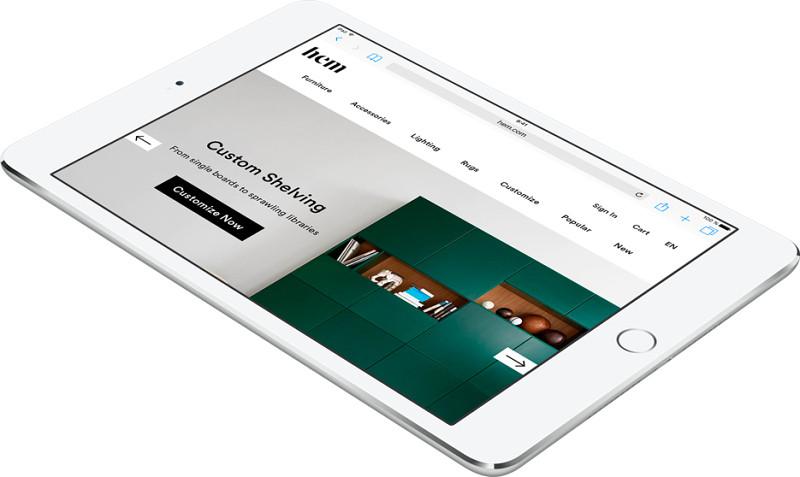 Планшет Apple iPad mini 4 Wi-Fi + Cellular 16GB Silver (MK872, MK702)