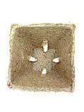 Торфяной стаканчик Jiffy 6*6 см  квадратный, фото 2