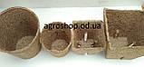 Торфяной стаканчик Jiffy 6*6 см  квадратный, фото 5