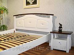 """Кровать белая """"Констанция"""". Массив - сосна, ольха, береза, дуб., фото 2"""