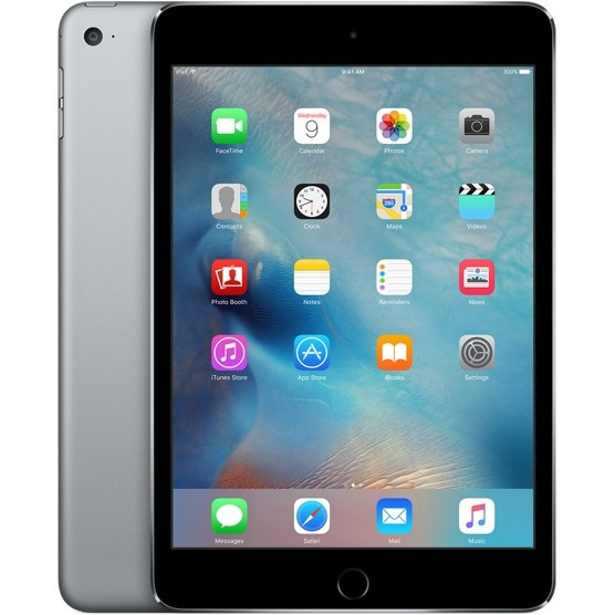 Планшет Apple iPad mini 4 Wi-Fi 16GB Space Gray (MK6J2)