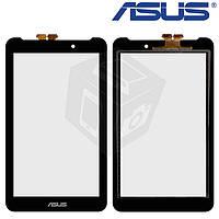 Сенсорный экран (touchscreen) для Asus MeMO Pad 7 ME170 / ME170c, черный, оригинал