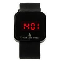 Led сенсорные наручные часы/черные