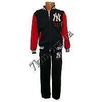 """Спортивный костюм детский """"Бомбер"""" 3-6 лет трикотаж BF 300612 красный"""