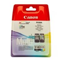 Картридж струйный Canon Pixma MP260 PG-510/CL-511 (2970B010) Multipack