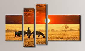 """""""Африка"""" Модульная картина на холсте"""