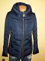 Куртка женская осень весна синяя Meajiateer 16-32