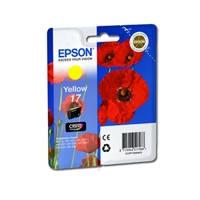 Картридж струйный Epson для Expression Home XP-103/XP-203/XP-207 №17 Yellow (C13T17044A10)
