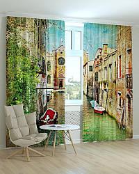 Фотошторы города Венеция улочка