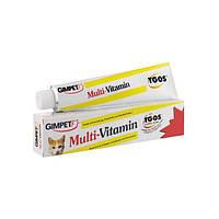 Паста Мульти-витаминная  для кошек с ТГОС 50 гр.